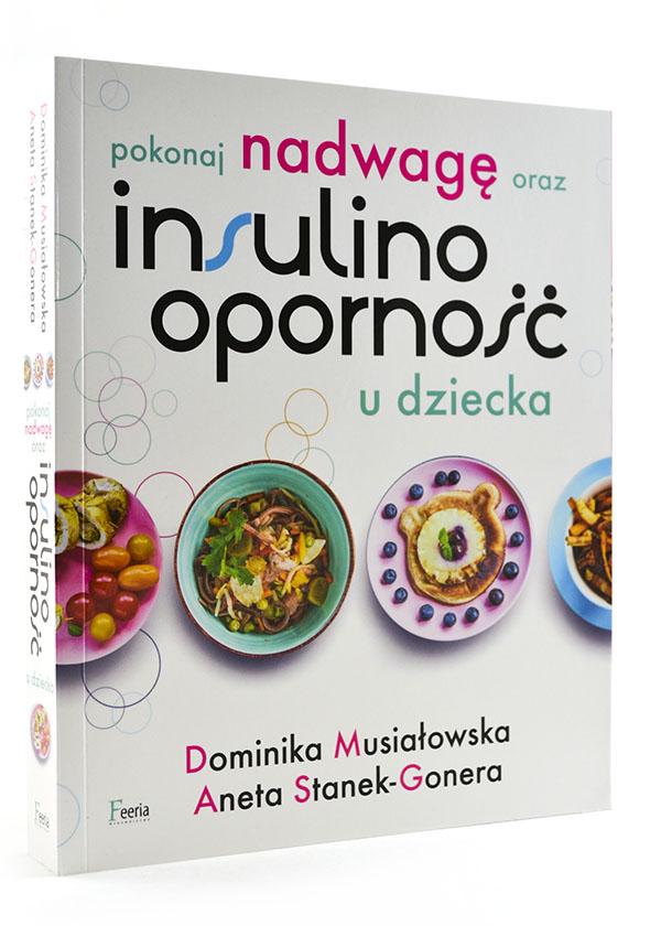 okładka książki pokonaj nadwagę oraz insulinooporność u dziecka
