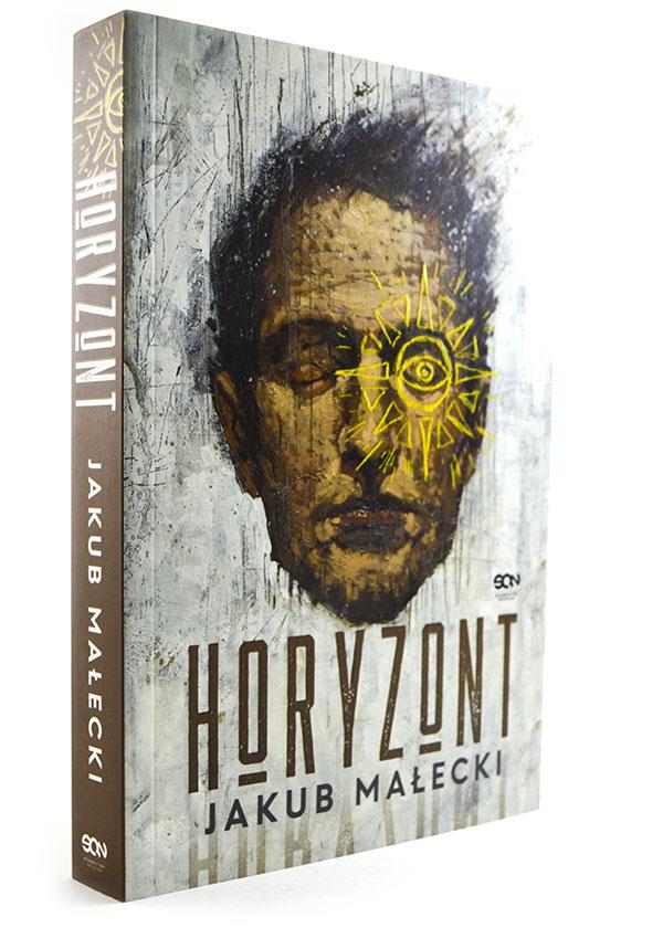 okładka książki jakuba małeckiego horyzont