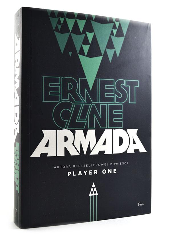 okładka książki armada ernest cline feeria