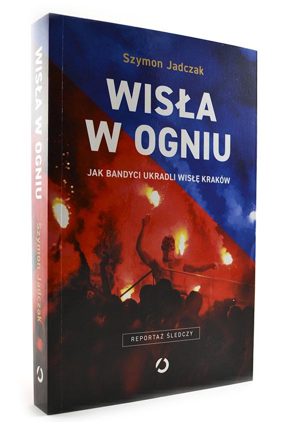 okładka książki Wisłą w ogniu