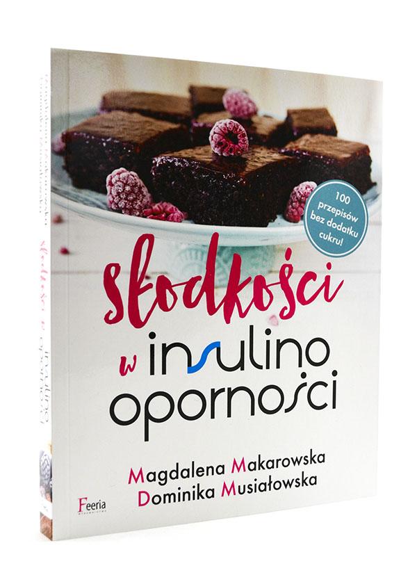 okładka książki słodkości w insulinooporności