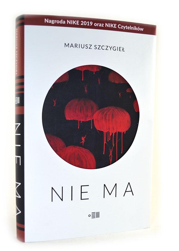 okładka książki Nie ma Mariusz Szczygieł