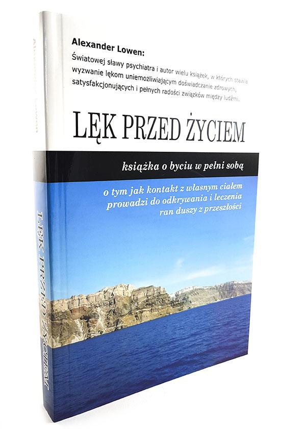 okładka książki Lęk przed życiem Alexandra Lowena