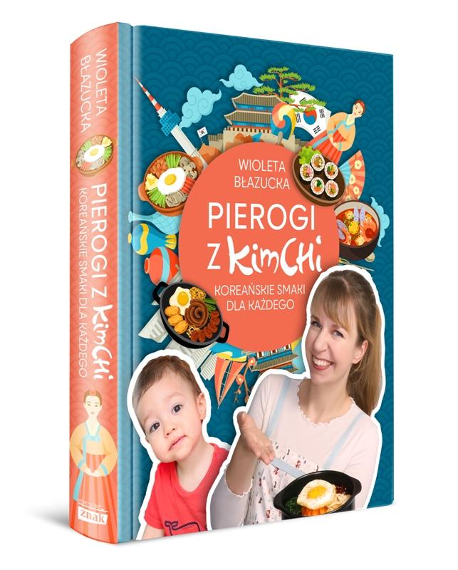 Pierogi z kimchi Autor: Wioleta Błazucka